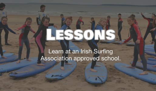 Surf lessons for groups